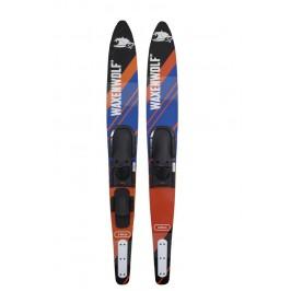 Waxenwolf Deluxe Intermediate Combo Skis